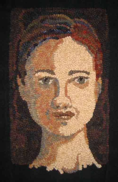 Rug Hooking a Face: The Background