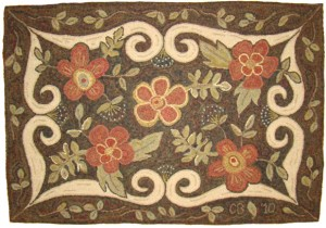 Conquest of Queen Anne Rug Hooking Pattern