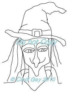 Witchy Self Portrait?