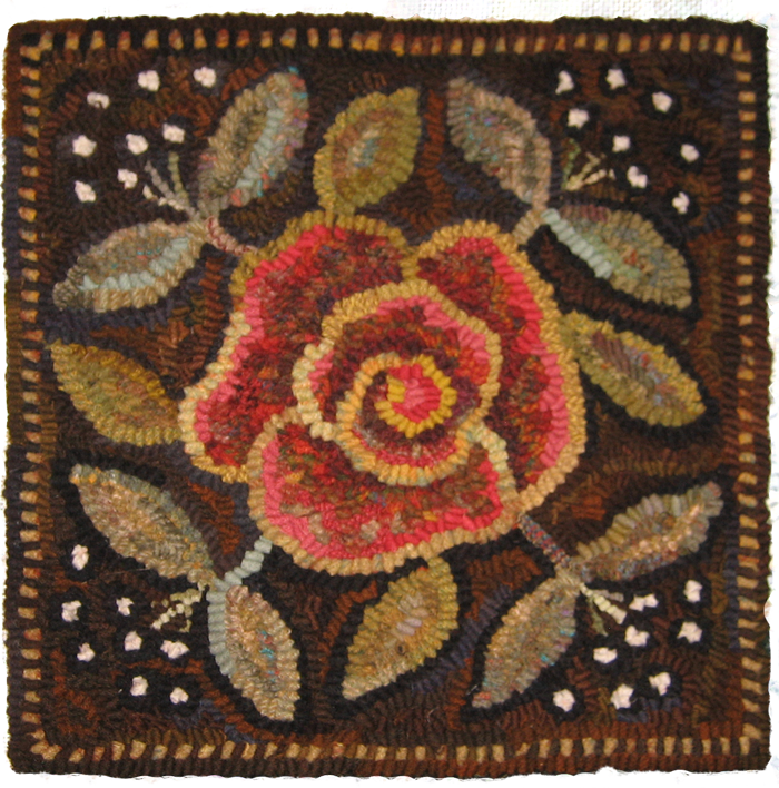 Antique queen anne chair - Gallery Of Hand Hooked Rugs By Cindi Gay