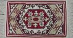 Frost Oriental rug hooked rug