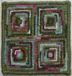 The best beginner project for rug hooking.