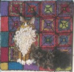 Meryl Nelson's Django from Cape May Rug Camp 2010