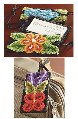 Rug Hook a Luggage Tag