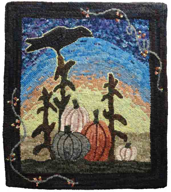 Mala Jones, Pumpkin with Crow