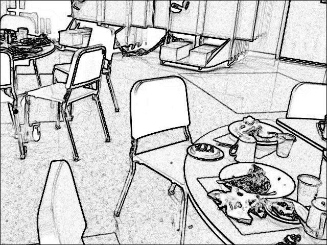 rug hooking lunchroom