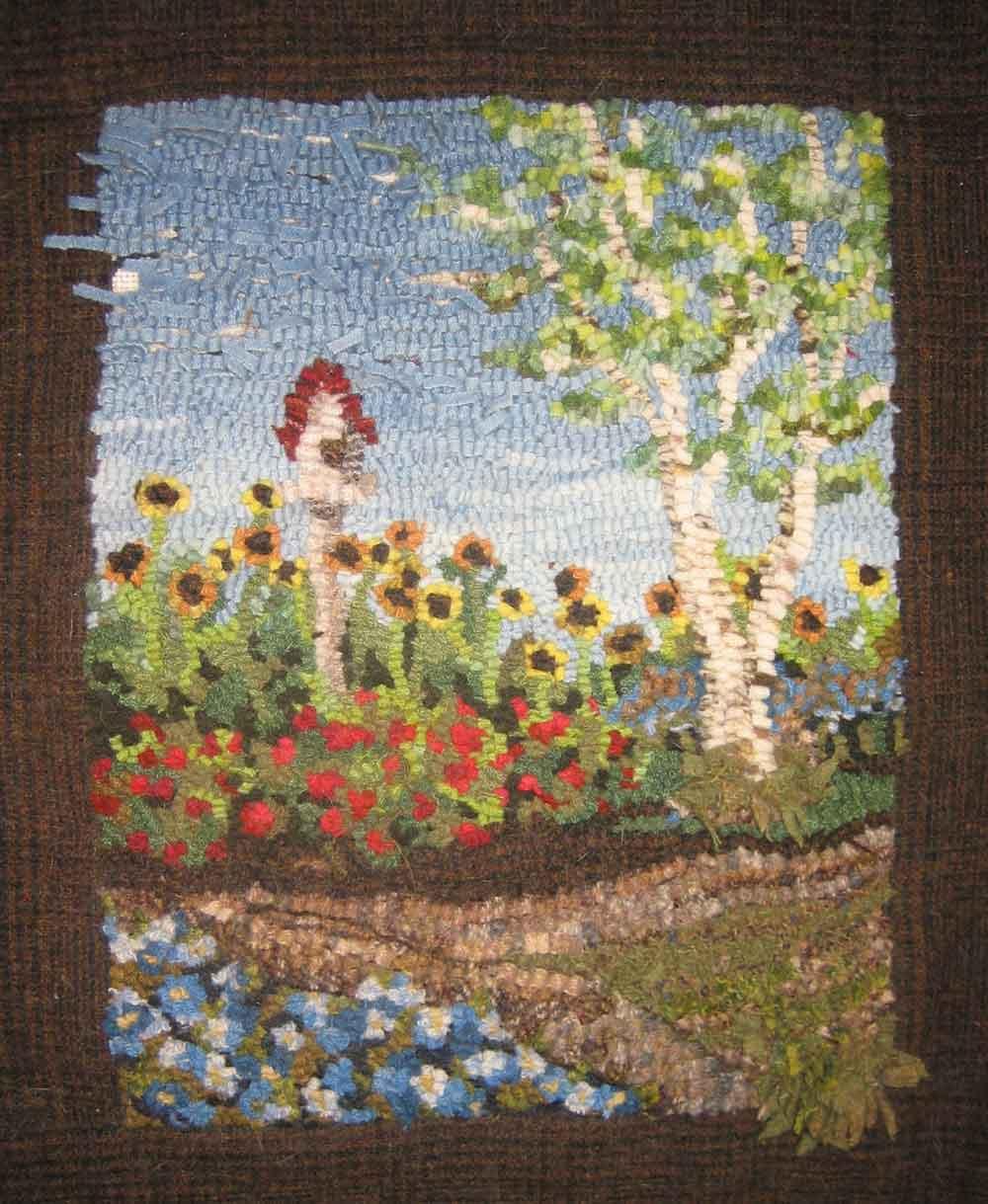 Marvelous Jasmineu0027s Butterfly Garden Designed By Jeanne Benjamin Hooked ...