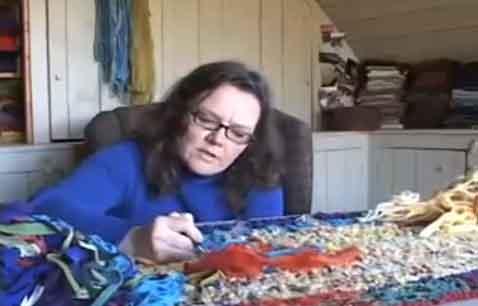 Deanne Fitzpatrick rug hooking