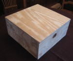Rug Hooked Footstool – Build the Box