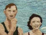 At the Beach by Lois Moore, Cedar Lakes 2009