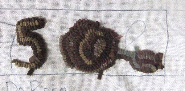 Primitive Rose attempt in dull colors