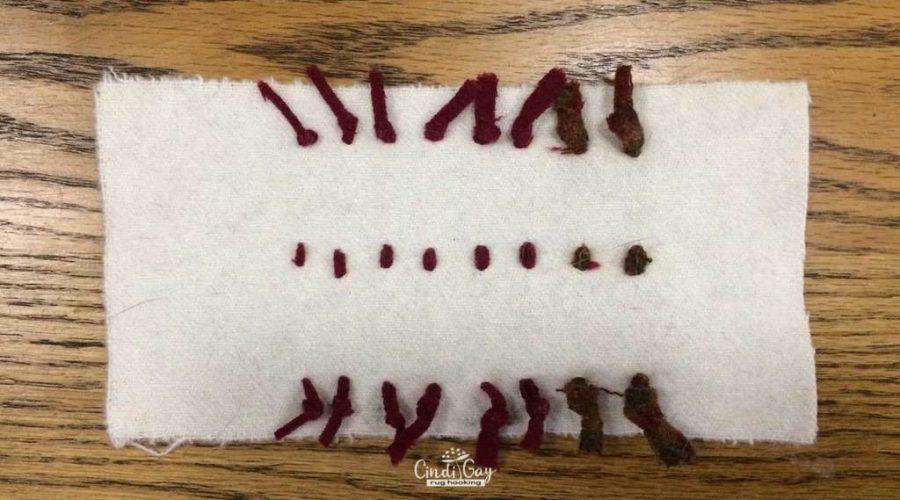008 – Rug Hooking Cut Sizes Explained