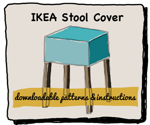 IKEA Stool Cover Course